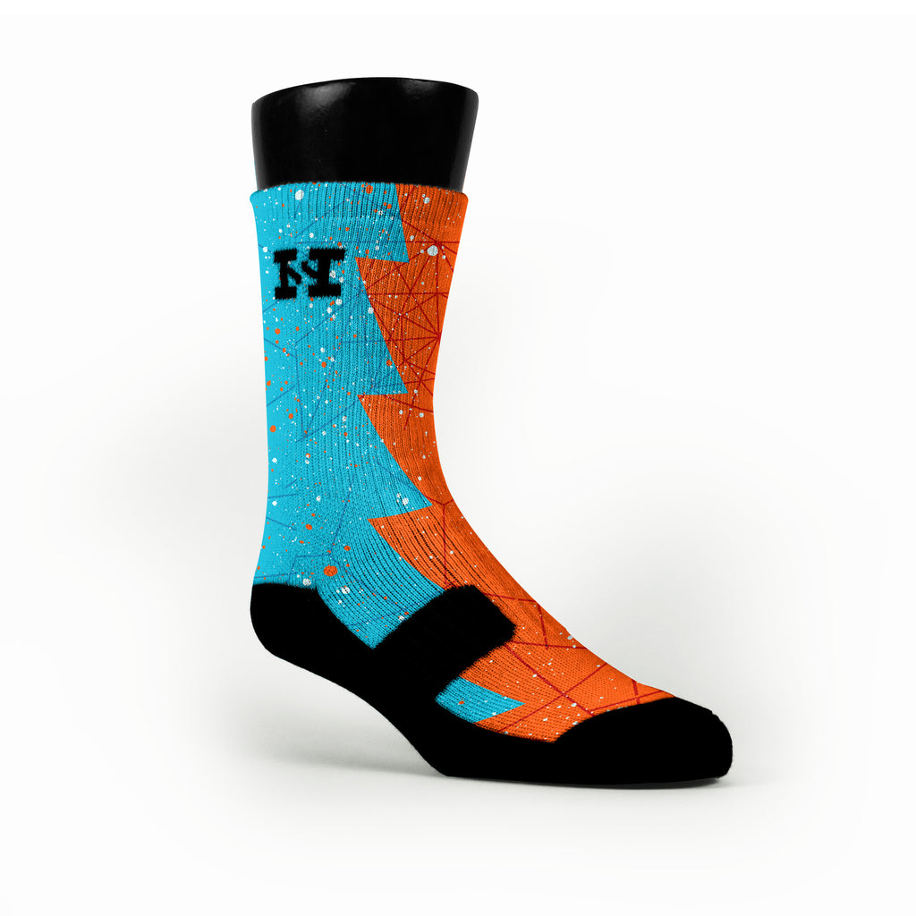 Crabs Razor Custom HoopSwagg Socks
