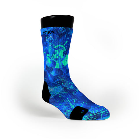 Critical Game Custom Notion Socks