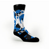Dallas Hardwood Camo Custom HoopSwagg Socks