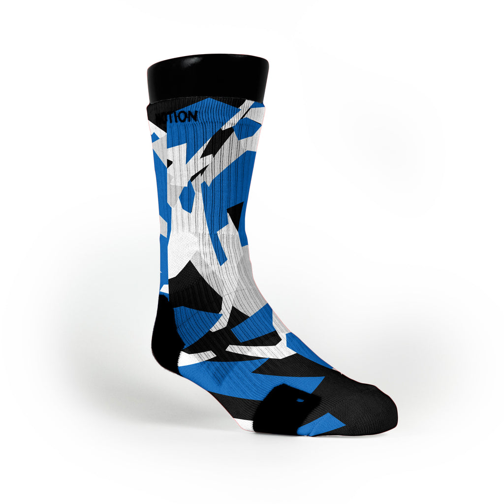 Dallas Hardwood Camo Custom Notion Socks