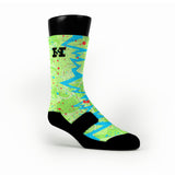 Dc Preheat Quakes Custom HoopSwagg Socks