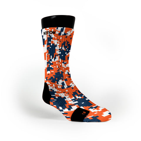 Denver Digital Camo Custom Notion Socks