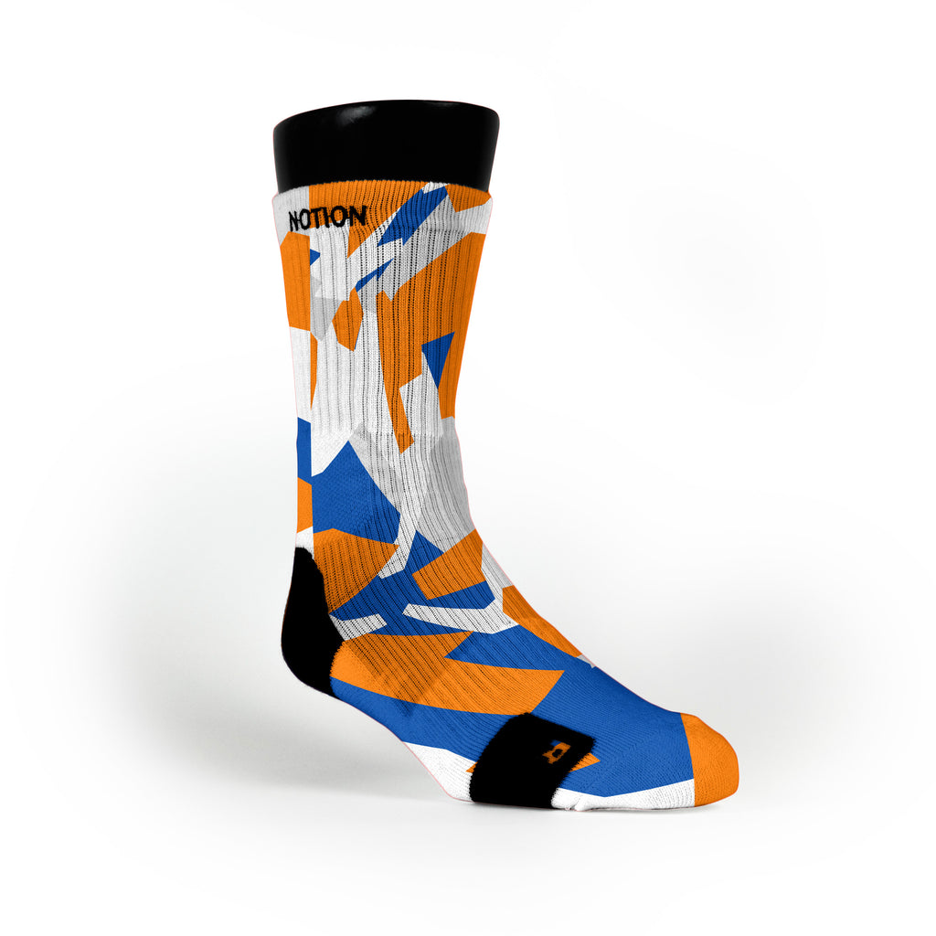 Denver Hardwood Camo Custom Notion Socks