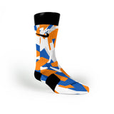 Denver Hardwood Camo Custom Nike Elite Socks