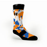 Denver Hardwood Camo Custom HoopSwagg Socks