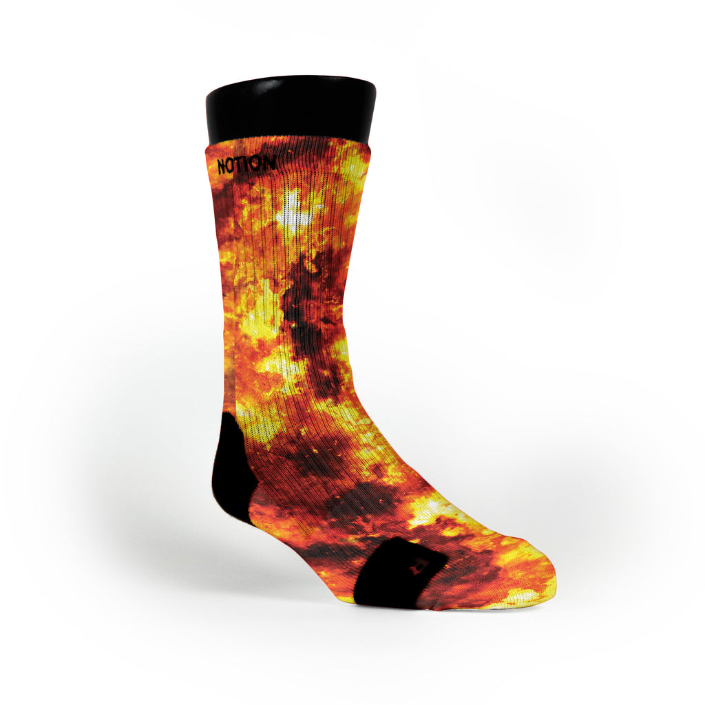 Detonation Custom Notion Socks