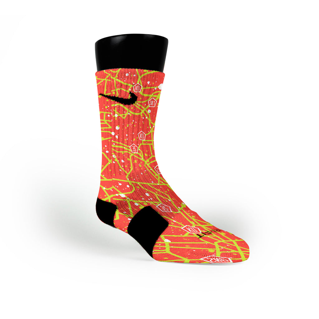 Dmv Custom Nike Elite Socks