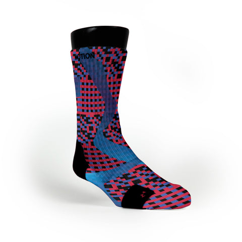 Dna Waves Custom Notion Socks