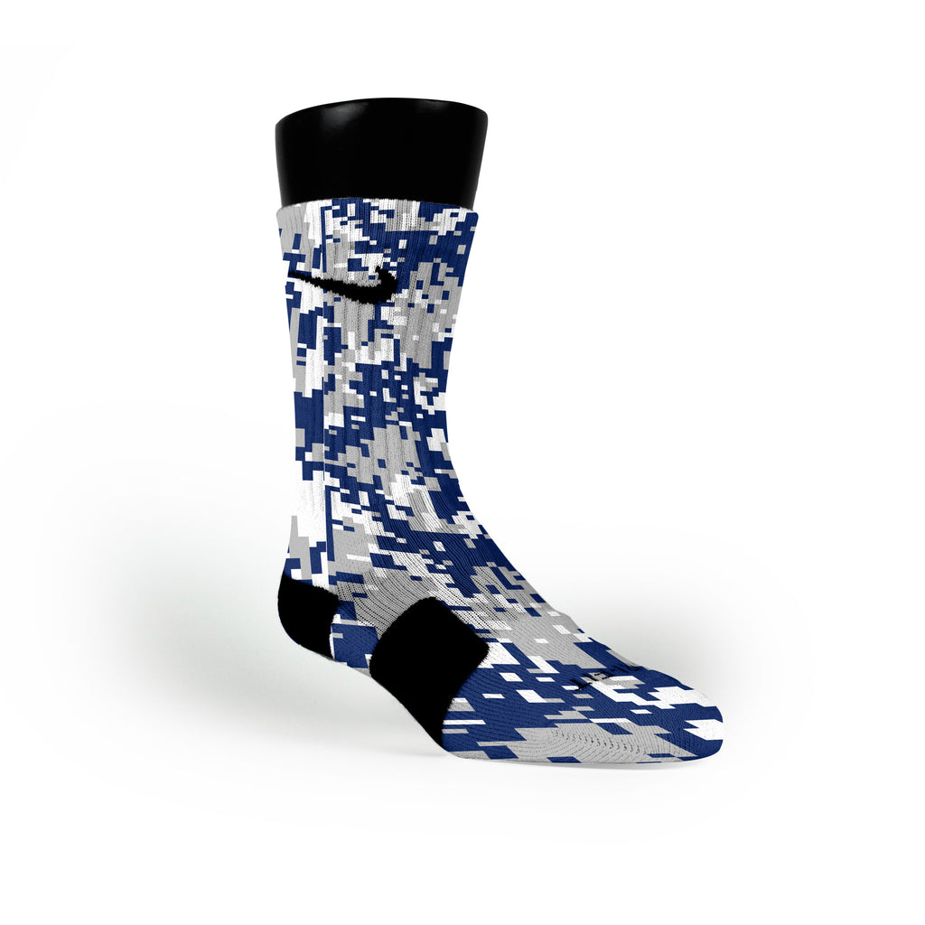 Duke Digital Camo Custom Nike Elite Socks