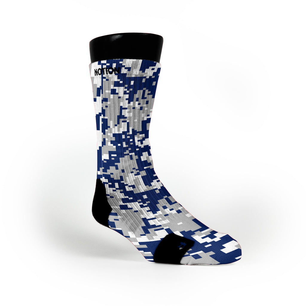 Duke Digital Camo Custom Notion Socks