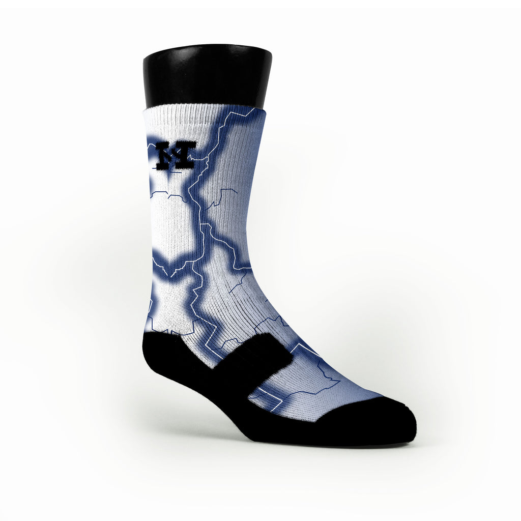 Duke Storm Custom HoopSwagg Socks