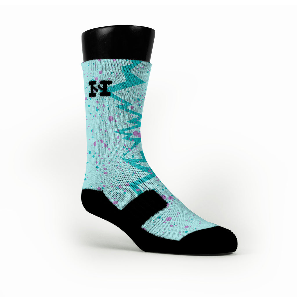 Easter Quakes Custom HoopSwagg Socks