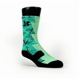 Easter Razor Custom HoopSwagg Socks
