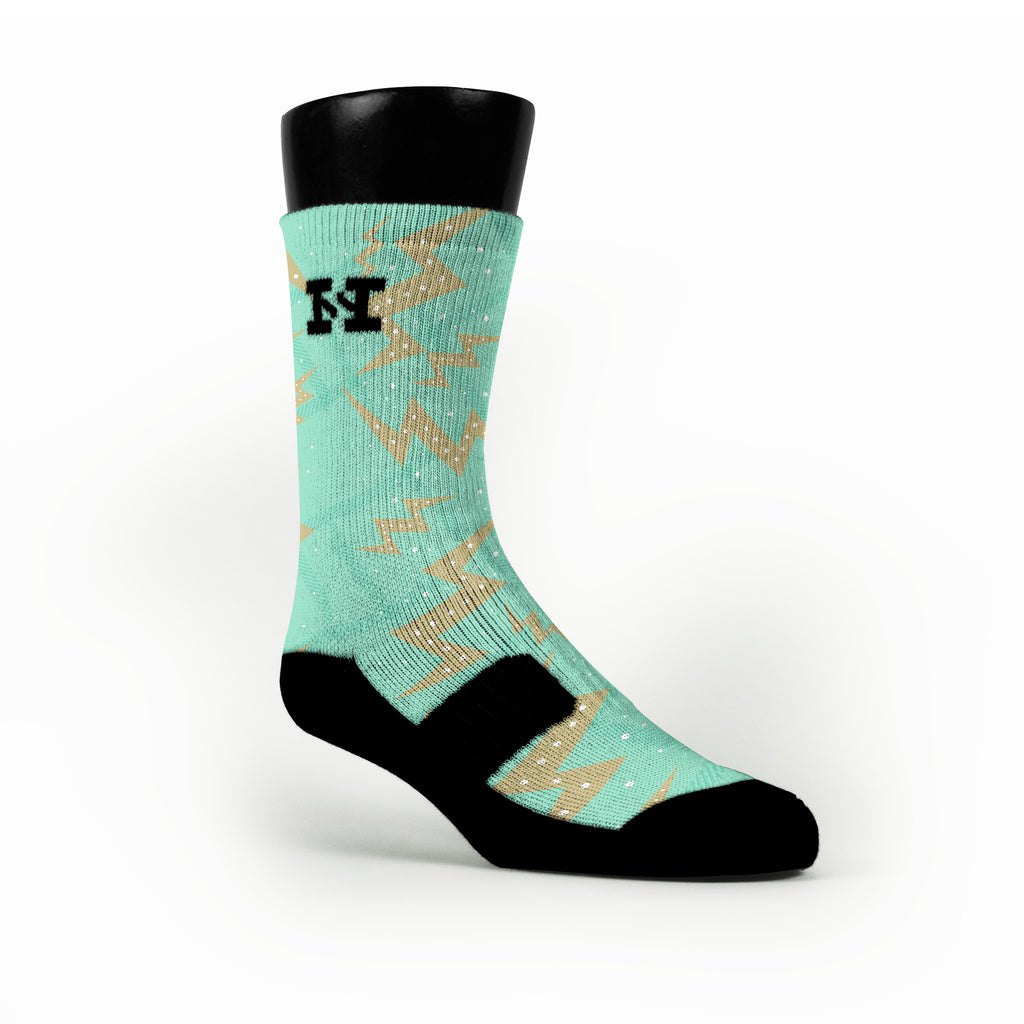 Easter Strikes Custom HoopSwagg Socks