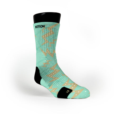 Easter Strikes Custom Notion Socks