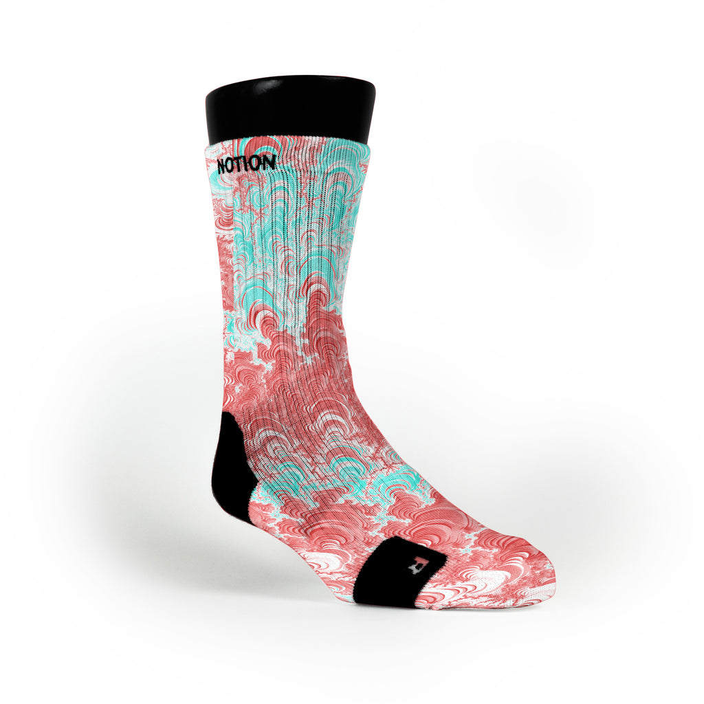 Easter Vortex Custom Notion Socks