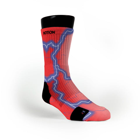 Electric Storm Custom Notion Socks