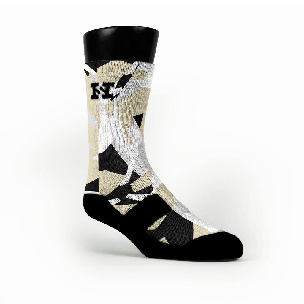 Elite Hardwood Camo Custom HoopSwagg Socks