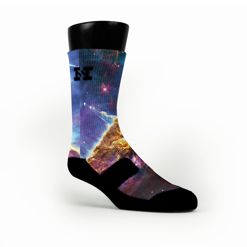 Final Frontiers Custom HoopSwagg Socks