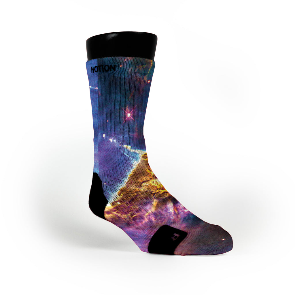 Final Frontiers Custom Notion Socks