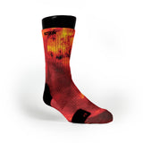 Fire Galaxy Custom Notion Socks