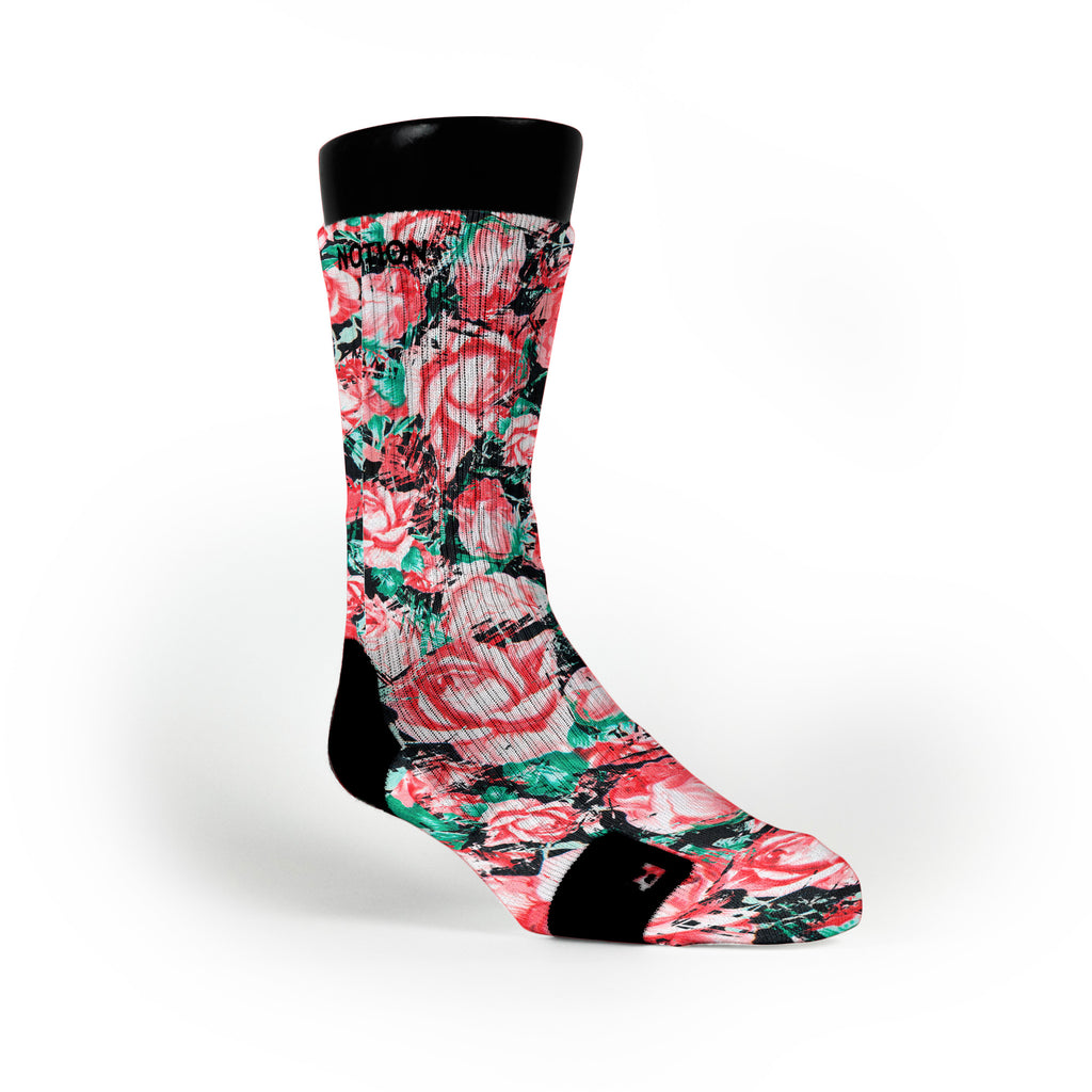 Floral Custom Notion Socks