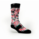 Floral Custom HoopSwagg Socks