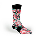 Floral Custom Nike Elite Socks
