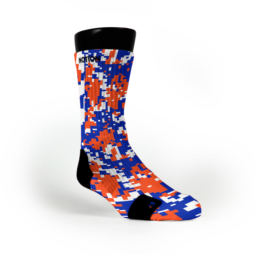 Florida Digital Camo Custom Notion Socks