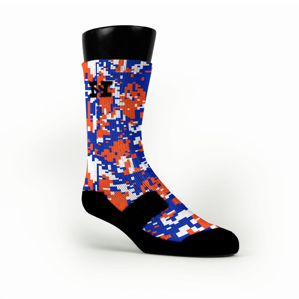 Florida Digital Camo Custom HoopSwagg Socks