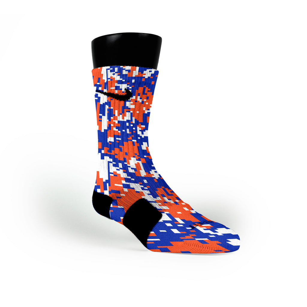 Florida Digital Camo Custom Nike Elite Socks