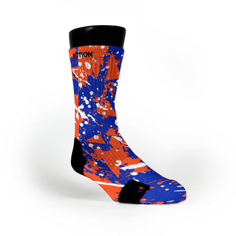 Florida Splatter Custom Notion Socks
