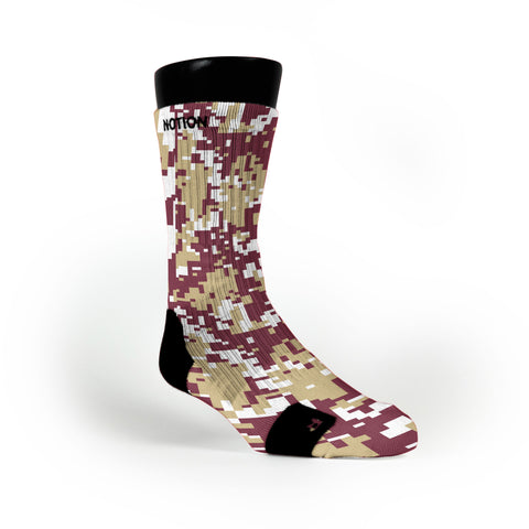 Florida State Digital Camo Custom Notion Socks