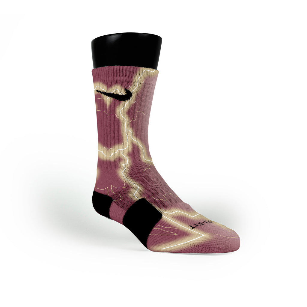 Florida State Storm Custom Nike Elite Socks