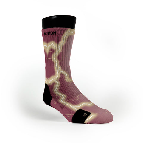 Florida State Storm Custom Notion Socks