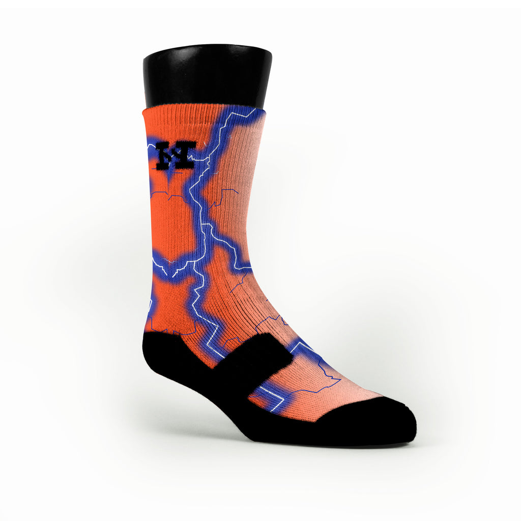 Florida Storm Custom HoopSwagg Socks