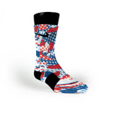 Freedom Flags Custom Nike Elite Socks
