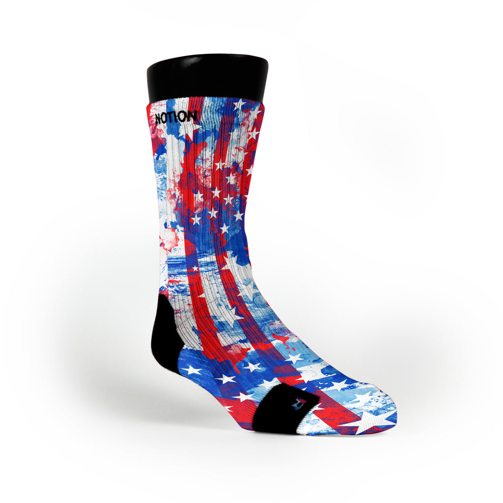 Freedom Custom Notion Socks
