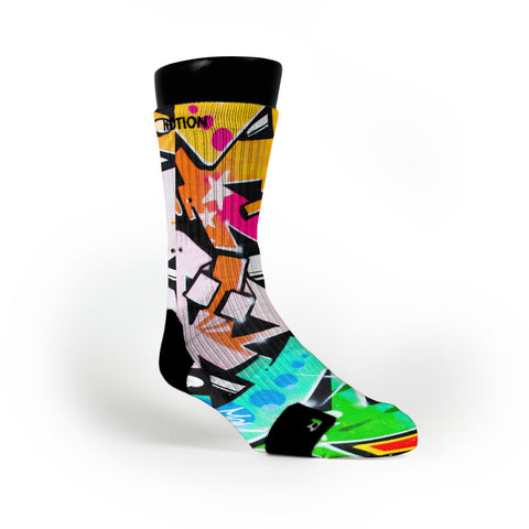 Freestyle Graffiti Custom Notion Socks