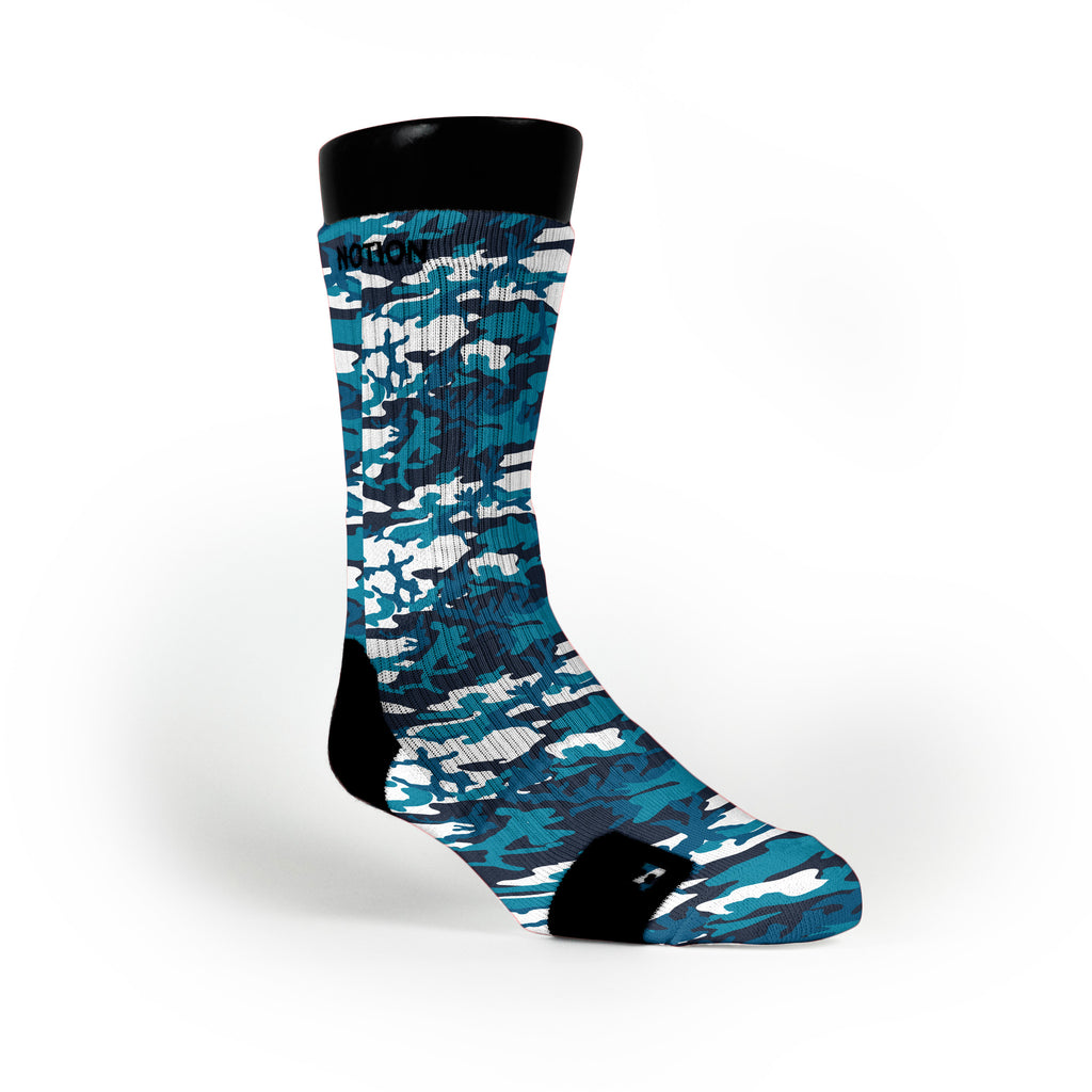 Frost Camo Custom Notion Socks
