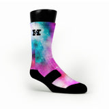 Fusion Galaxy Custom HoopSwagg Socks