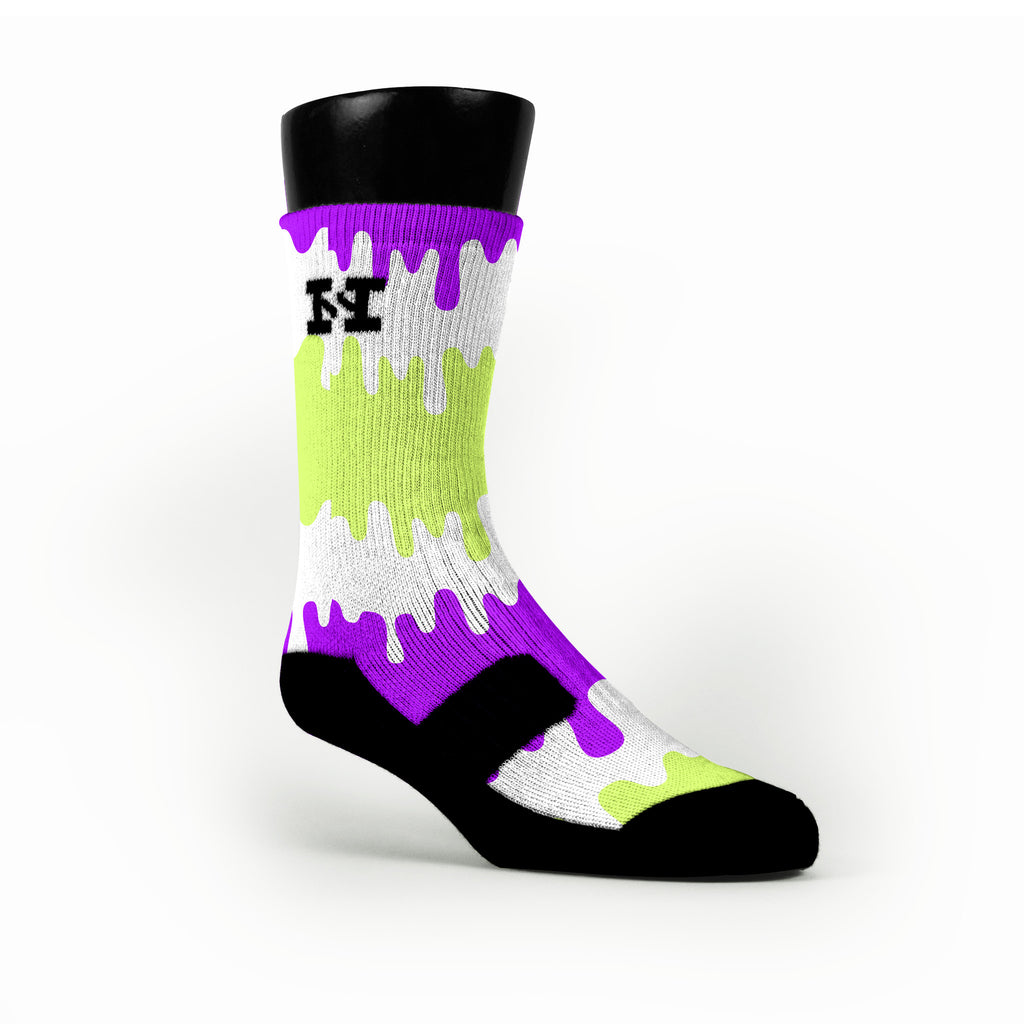 Fusion Pops Custom HoopSwagg Socks