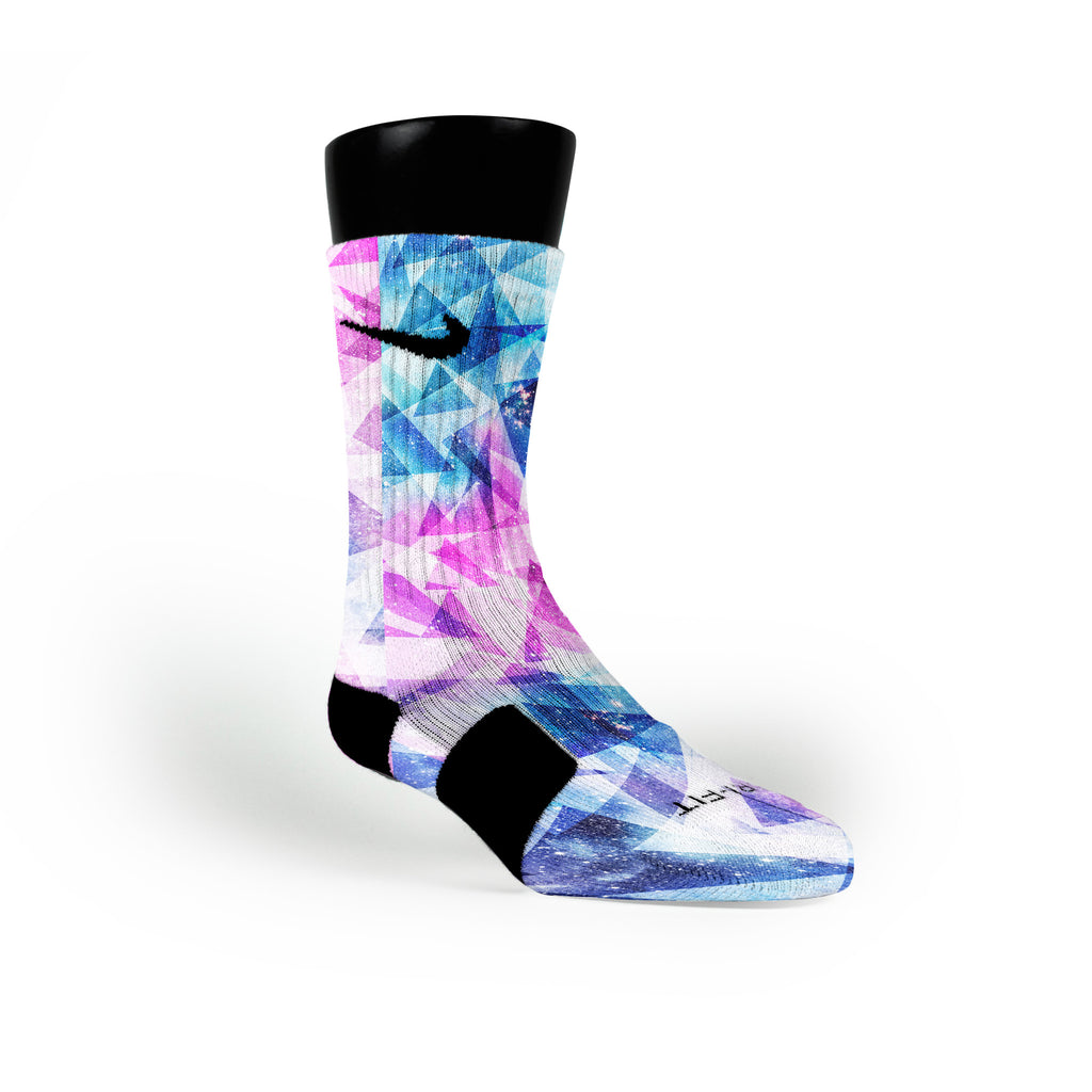 Galaxy Diamonds Custom Nike Elite Socks