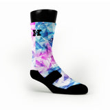 Galaxy Diamonds Custom HoopSwagg Socks