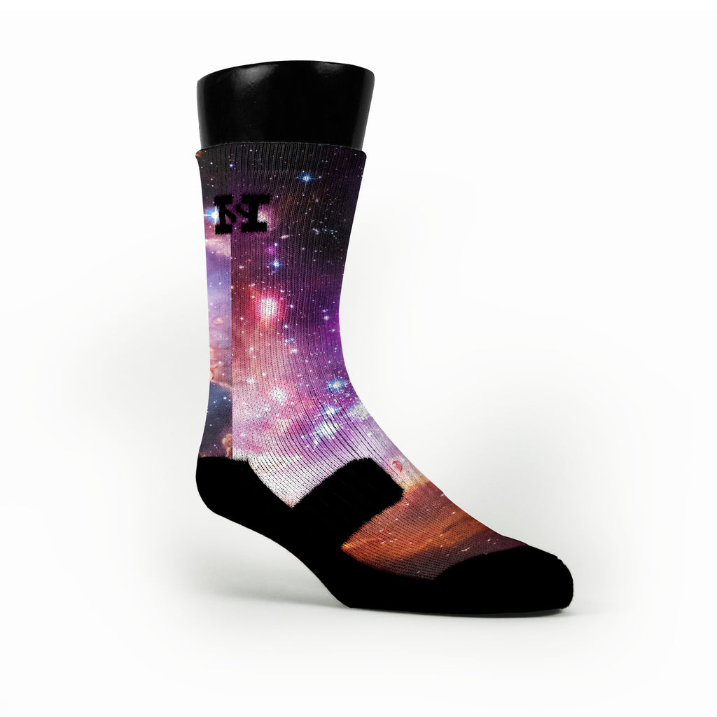 Galaxy Custom HoopSwagg Socks