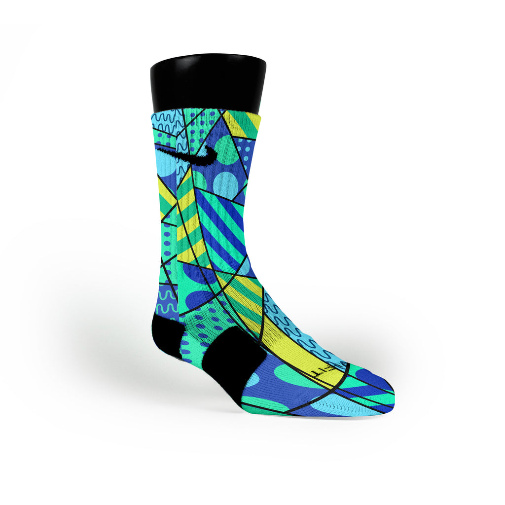 Game Royal Custom Nike Elite Socks