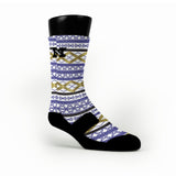 Geometric Pride Custom HoopSwagg Socks