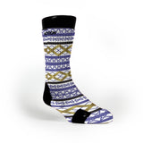 Geometric Pride Custom Notion Socks