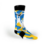 Golden State Hardwood Camo Custom Nike Elite Socks