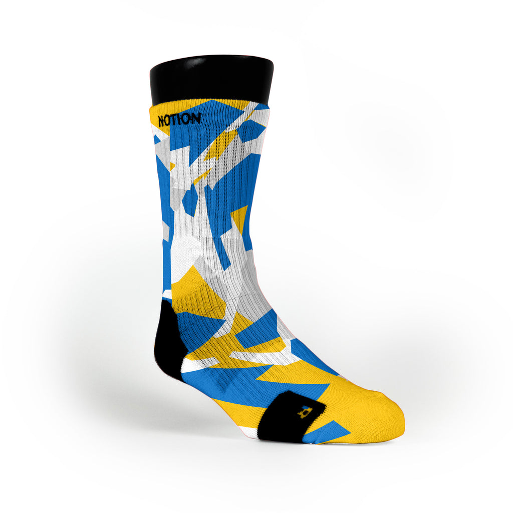 Golden State Hardwood Camo Custom Notion Socks
